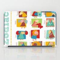 zodiac iPad Cases featuring Zodiac by Loezelot