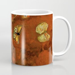 "Odilon Redon ""Evocation of butterflies"" Coffee Mug"