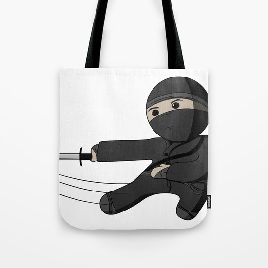 Ninja Swing Tote Bag