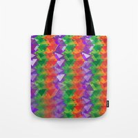 candy Tote Bags featuring Candy  by Watch House Design