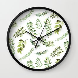 Forest in the Fall Wall Clock