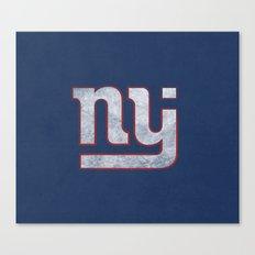 New Jersey Football Giants Canvas Print