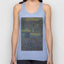 Gustav Klimt - Country House By The Attersee Unisex Tank Top