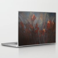 tulips Laptop & iPad Skins featuring tulips by Maria Enache