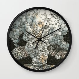 Volcano Wall Clock