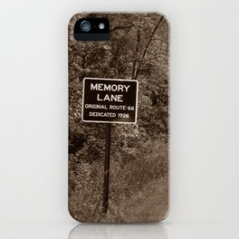 Keepin' Memories Alive iPhone Case