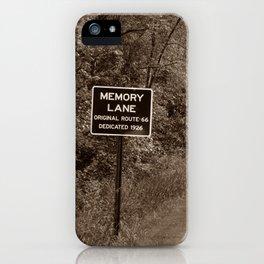 Keepin' Memories Alive iPhone Case