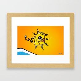 Unplug It! Framed Art Print