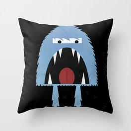 Ragin' Yeti Throw Pillow