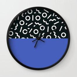 Memphis pattern 49 Wall Clock