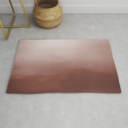 Dunn Edwards Spice of Life DET439 Abstract Watercolor Ombre Blend - Gradient Rug
