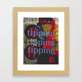 Tipping BH Framed Art Print