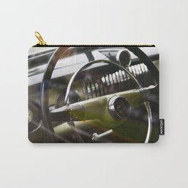 steering wheel in classic american ca Carry-All Pouch