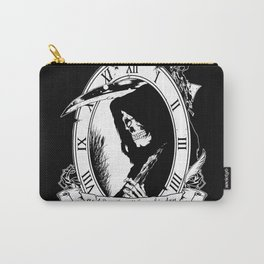 Grim Skeleton Times Carry-All Pouch