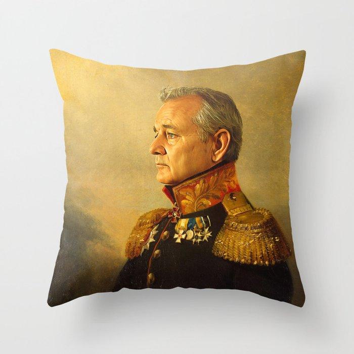 bill murray replaceface throw pillow