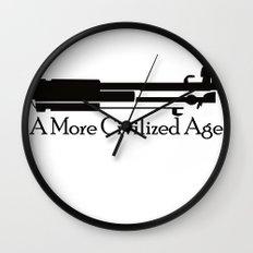 A More Civilized Age Wall Clock