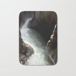 Rainbow at Box Canyon Falls Bath Mat