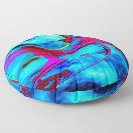 Cosmic Energy Floor Pillow