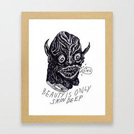 Beauty Skin Framed Art Print