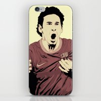 messi iPhone & iPod Skins featuring Messi by Renan Lacerda