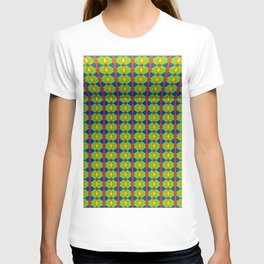 Colored pattern room T-shirt