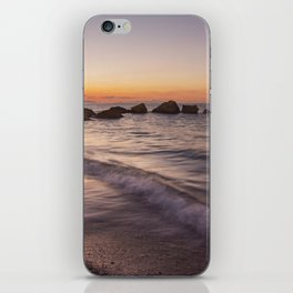 Tranquility after sunset iPhone Skin