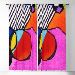 Magical Thinking 7A6 by Kathy Morton Stanion Blackout Curtain