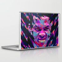 nba Laptop & iPad Skins featuring RUSSELL WESTBROOK: NBA ILLUSTRATION V2 by mergedvisible