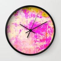 subaru Wall Clocks featuring GJ 504b by Fernando Vieira