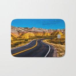 Badlands Highway Bath Mat
