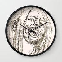 marley Wall Clocks featuring Marley by Deelara