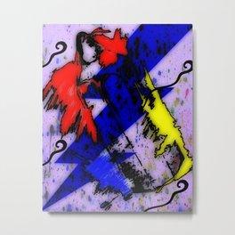 Airbrush Magic Metal Print