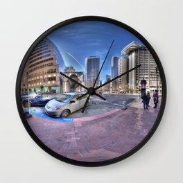 San Francisco colours Wall Clock