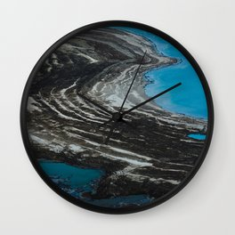 Shrinking of the Dead Sea Wall Clock