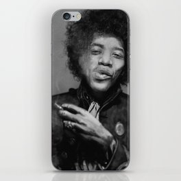 Chilling Hendrix iPhone Skin