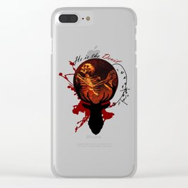 He is the Devil Clear iPhone Case