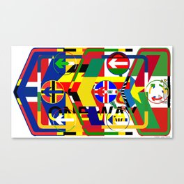Traffic 01 Canvas Print