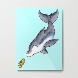 Hello, Fishy! Metal Print