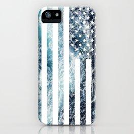 USA Ocean Flag iPhone Case