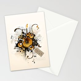 The Music Machine Stationery Cards