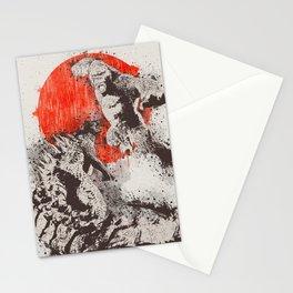 Godzilla vs kong 1 Stationery Cards