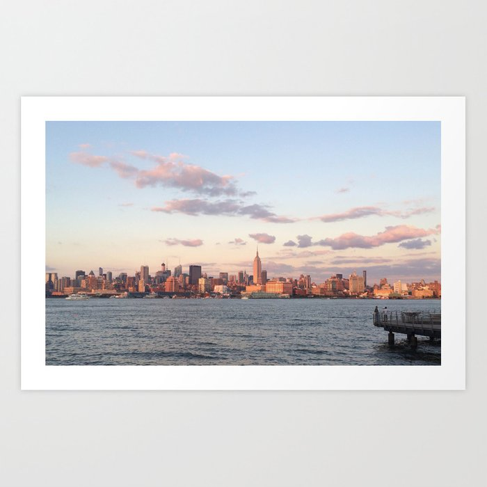 Summer's End, NYC Art Print