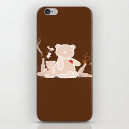 A Night with Ted iPhone Skin