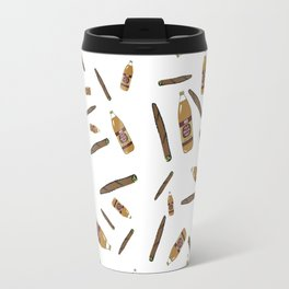 Blunts & 40s Allover Print Travel Mug