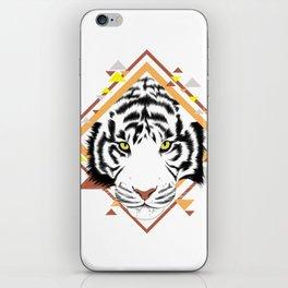 Tiger Geometric iPhone Skin