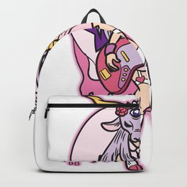 Baphomet Pastel Goth Rocker Girl Backpack