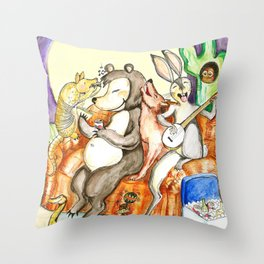 Austin Nights Throw Pillow