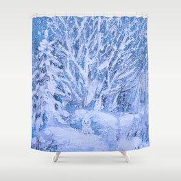 HAPPY FUNNY BUNNY) Shower Curtain