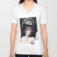 niall V-neck T-shirts featuring Niall OTRA by Clara J Aira