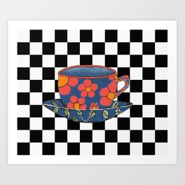 Cup And Saucer Art Print